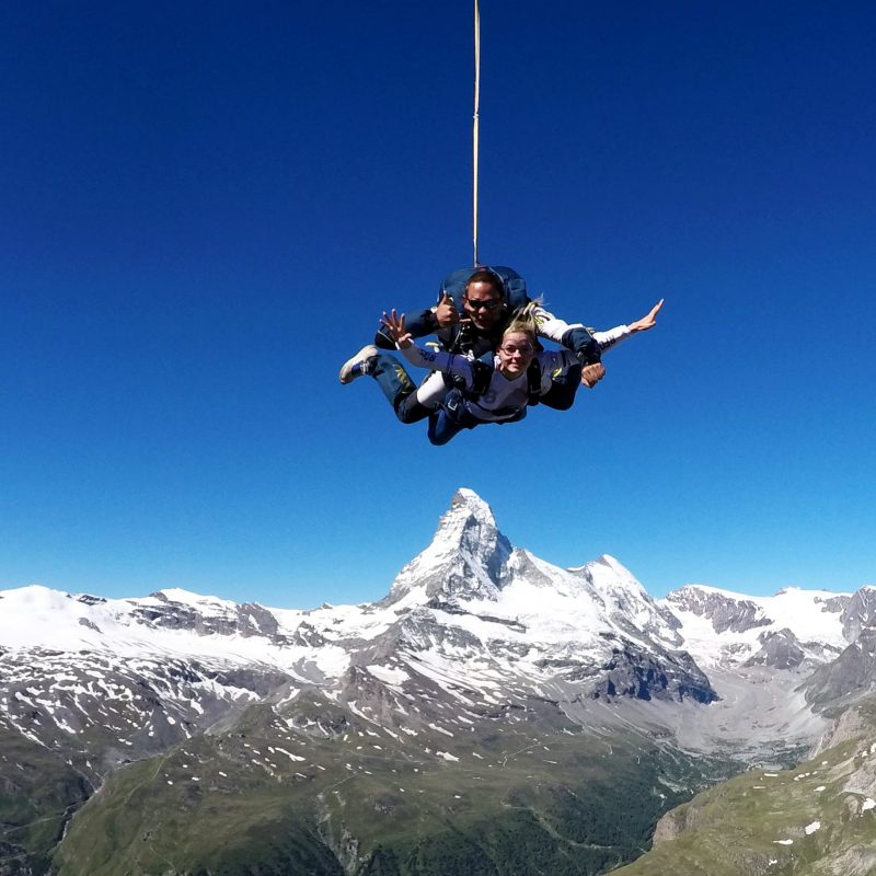 Skydive Zermatt | Skydiving in front of the Matterhorn!